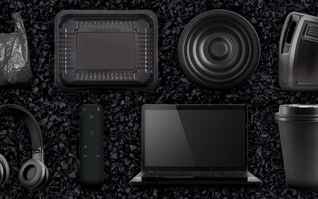 Specim FX50 Applications - Black Plastic