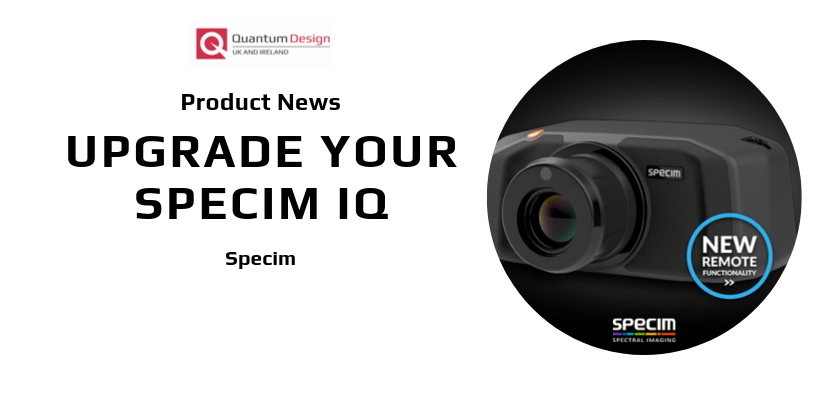 Upgrade your Specim IQ!
