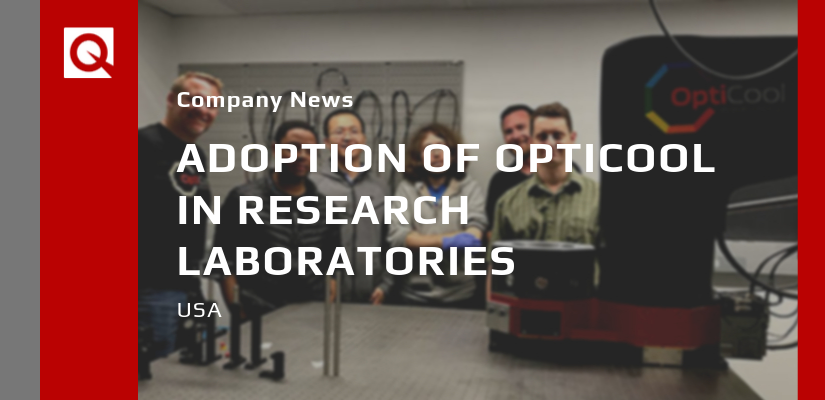 Adoption of Quantum Design OptiCool in Research Laboratories