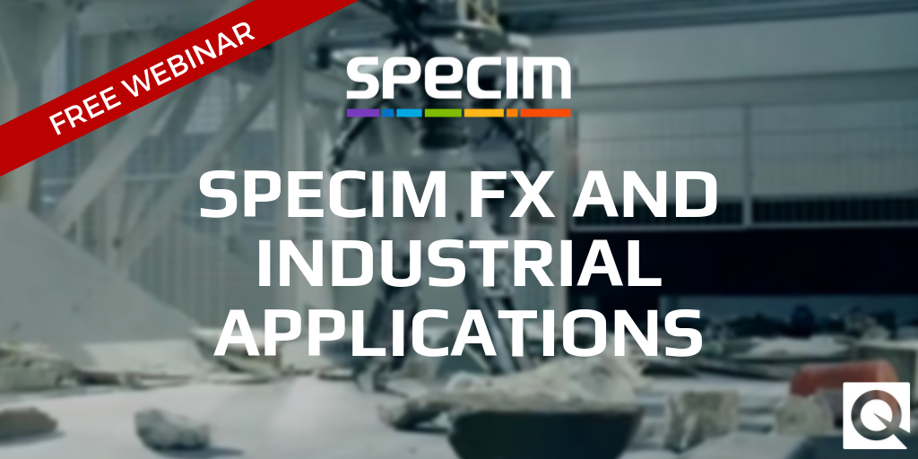 Specim FX and Industrial Applications Webinar – rescheduled! 🗓