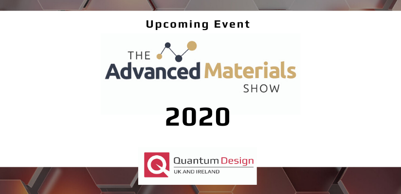 We will be exhibiting at The Advanced Materials Show