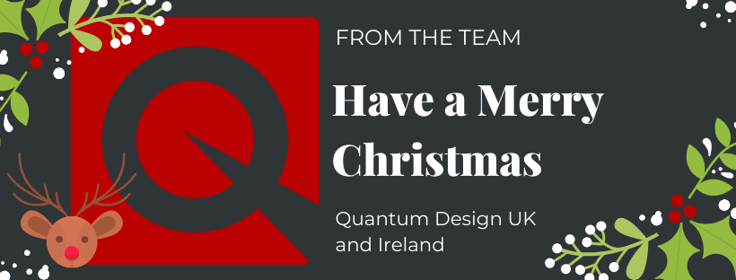 Merry Christmas From Quantum Design UK and Ireland