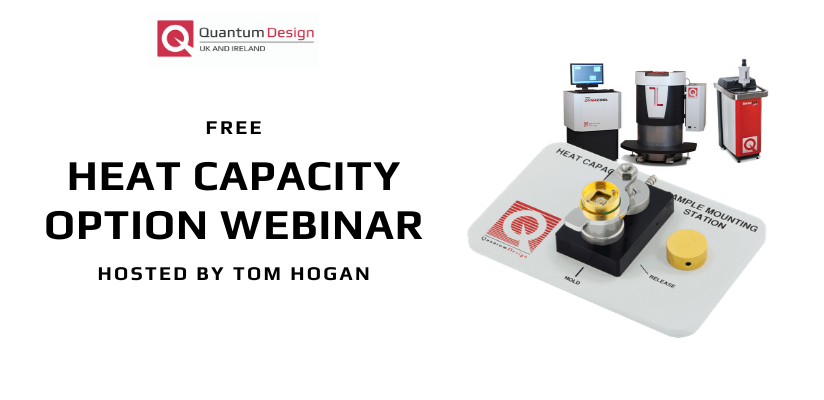 Quantum Design Heat Capacity Option Webinar 🗓
