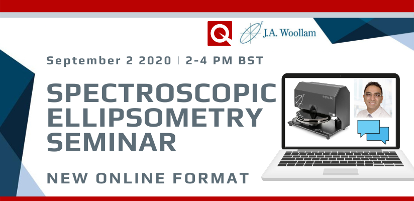 20th Annual J A Woollam Spectroscopic Ellipsometer  Online Workshop 🗓