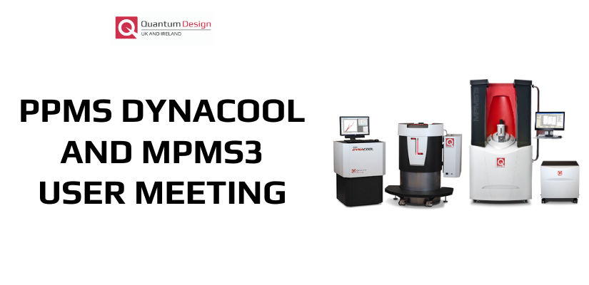 Quantum Design MPMS 3 and PPMS DynaCool Users Meeting 🗓 🗺