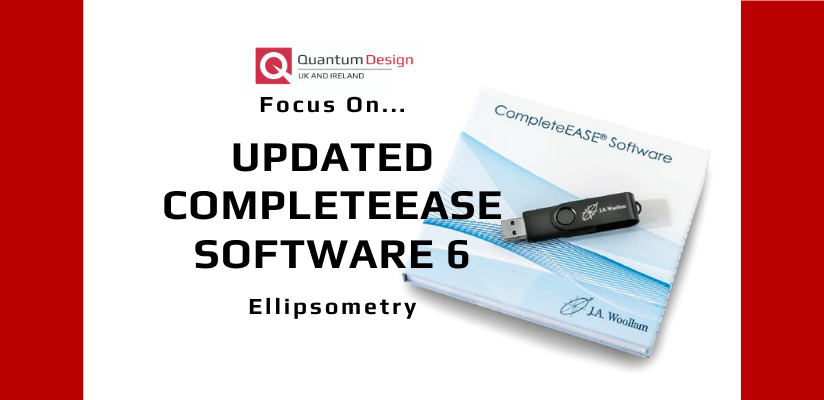 J A Woollam Software Update: CompleteEase 6