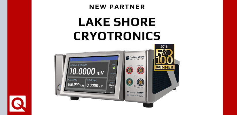 Quantum Design UK & Ireland Now a Sales Partner of Lake Shore Cryotronics