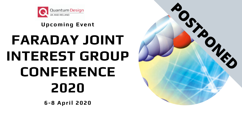 Postponed | Faraday Joint Interest Group Conference 2020