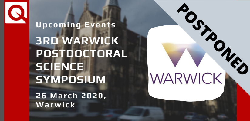 Postponed | 3rd Warwick Postdoctoral Science Symposium