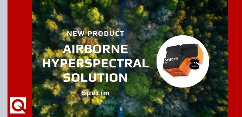 Specim introduces new compact hyperspectral camera for airborne use