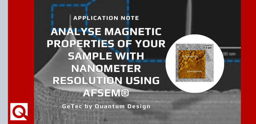 In-situ magnetic force microscopy analysis of magnetic multilayers and duplex steel with AFSEM®