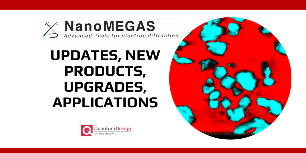 Nanomegas Updates and Upgrades