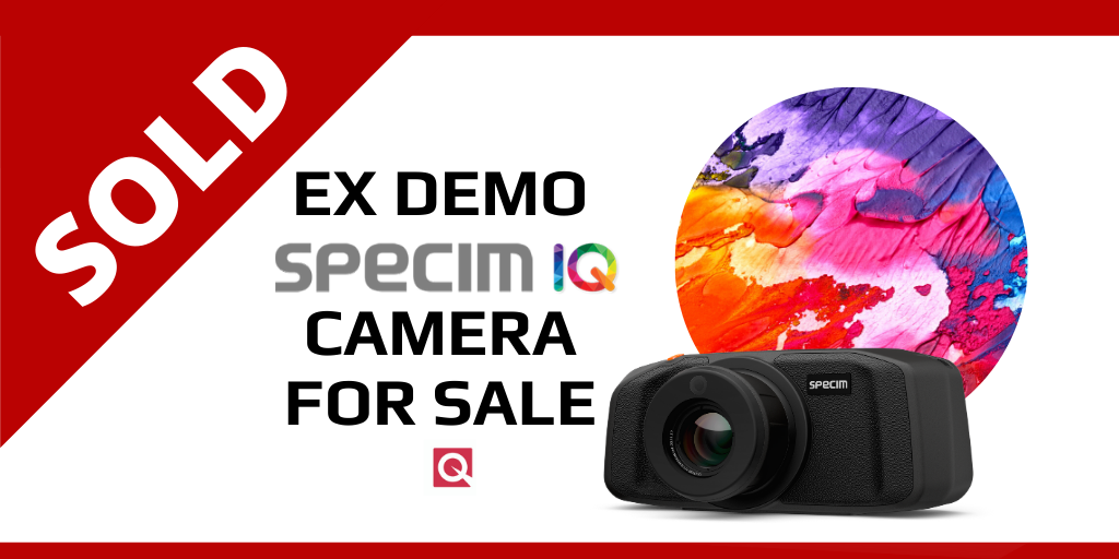 SOLD! Ex-Demo Specim IQ Hyperspectral Camera For Sale