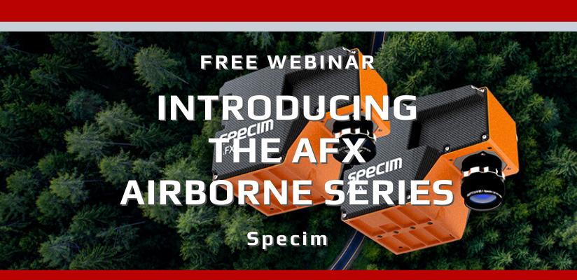 Specim AFX Webinar 🗓