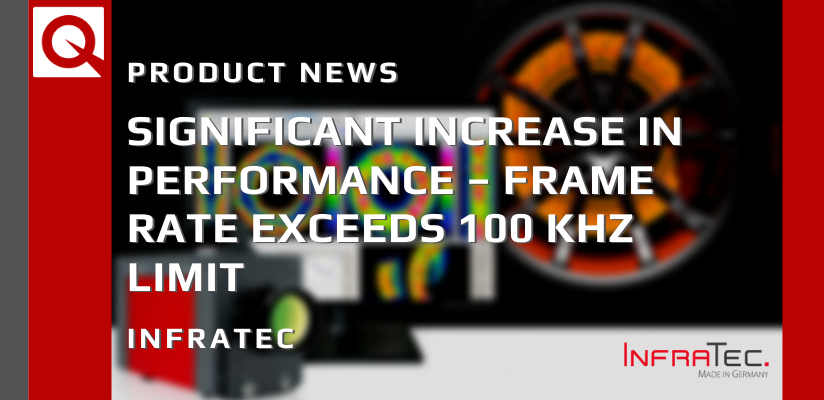 Significant Increase in Performance – Frame Rate Exceeds 100 kHz Limit