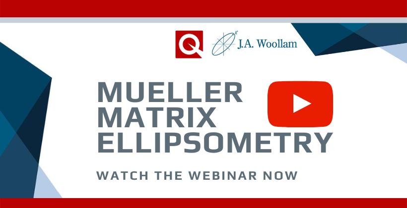 Mueller Matrix Ellipsometry – A Universal Optical Characterisation Technique