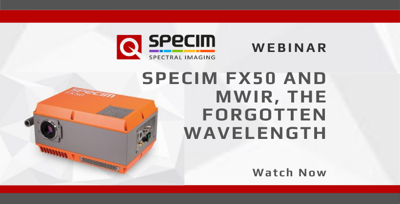 Watch Now: Specim FX50 and MWIR, the Forgotten Wavelength