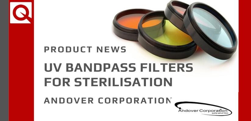 UV Bandpass Filters for Sterilisation
