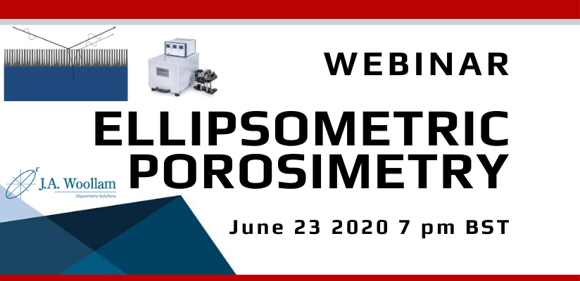 Ellipsometric Porosimetry Webinar