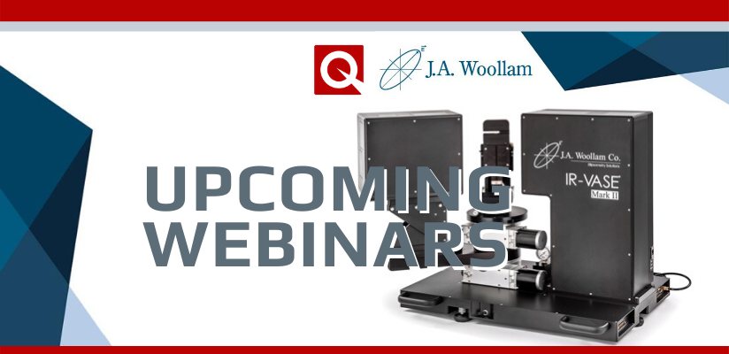 A Round-Up of Upcoming Webinars from J A Woollam 🗓