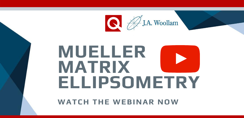 Mueller Matrix Ellipsometry – A Universal Optical Characterisation Technique