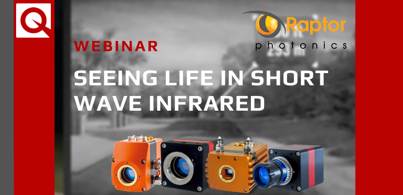Watch Now: Seeing life in Short Wave Infrared