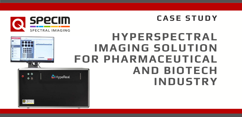 Hyperspectral imaging solution for the pharmaceutical and biotech industry