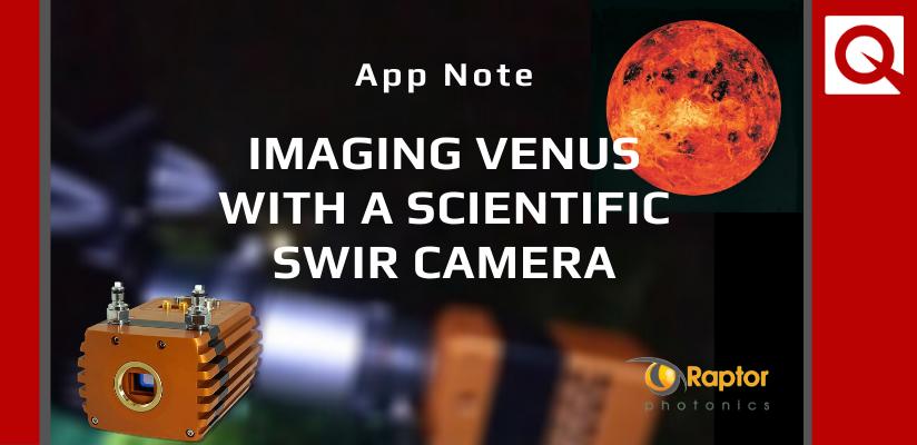 New App Note: Imaging Venus with a Scientific SWIR Camera