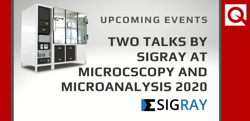 Two Talks by Our Partners Sigray at M&M 2020