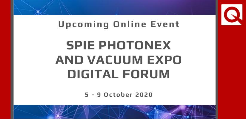 SPIE Photonex and Vacuum Expo 🗓