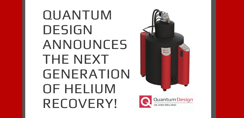 Quantum Design Announces the Next Generation of Helium Recovery!