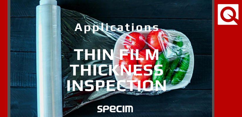 Thin film thickness inspection by hyperspectral imaging