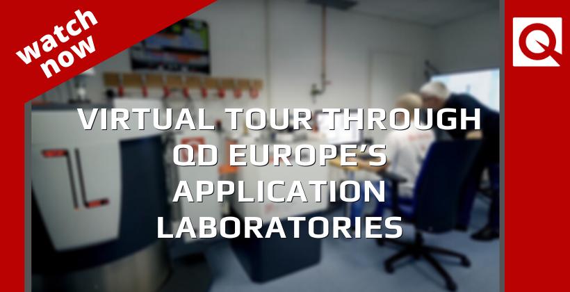 Watch Now:  Virtual tour Through QDE's Application Laboratories