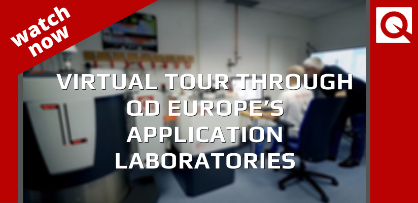 Watch Now:  Virtual tour Through QDE's Application Laboratories 🗓