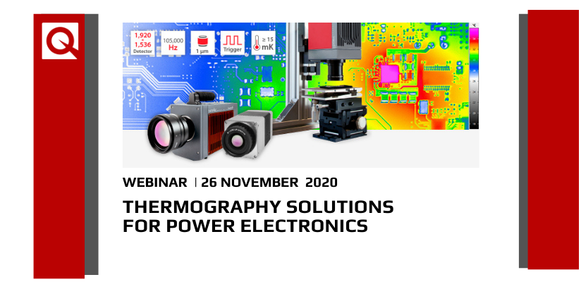 Webinar:  Thermography for Power Electronics 🗓