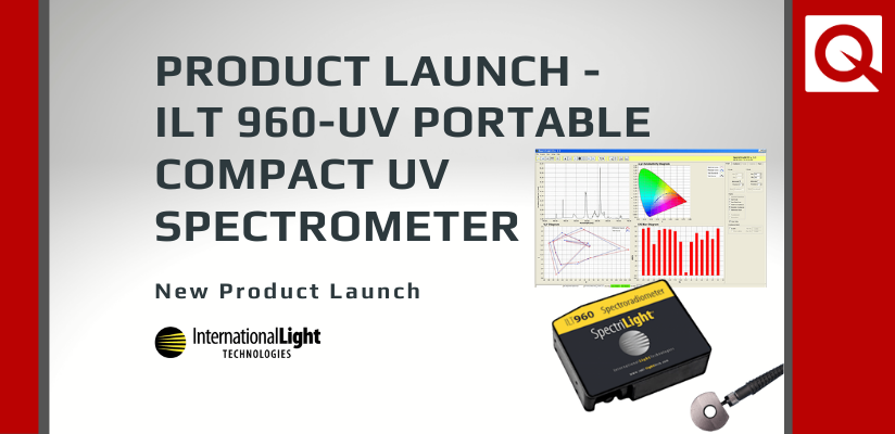 Product Launch – ILT 960-UV Portable Compact UV Spectrometer