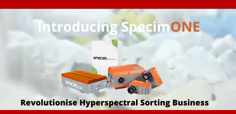 Specim launches complete spectral imaging platform for the sorting industry