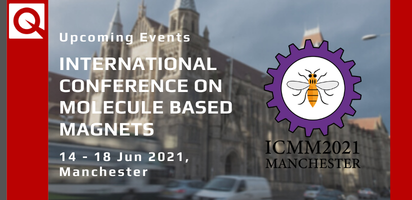 17th International Conference on Molecule Based Magnets 🗓