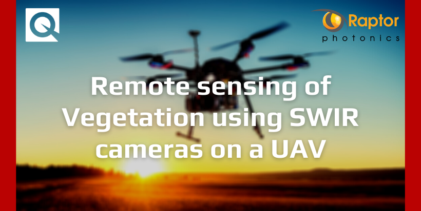 Remote sensing of Vegetation using SWIR cameras on a UAV