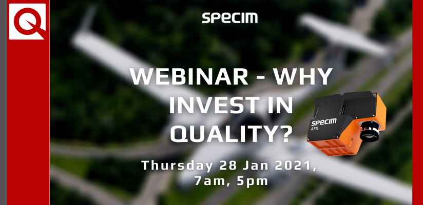 Specim Webinar – Why invest in quality?