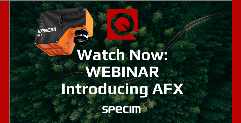 Watch Now: Introducing Specim AFX 🗓