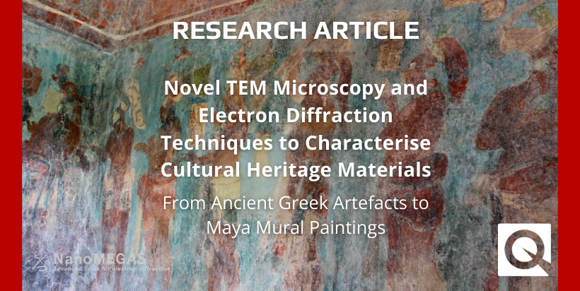 Novel TEM Microscopy and Electron Diffraction Techniques to Characterise Cultural Heritage Materials