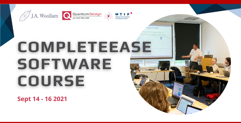 J A Woollam CompleteEase Software Training Course 2021