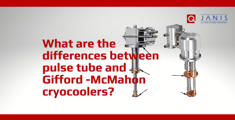What are the differences between pulse tube and Gifford-McMahon cryocoolers?