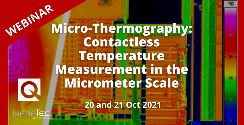 Webinar: Contactless Temperature Measurement in the Micrometer Scale