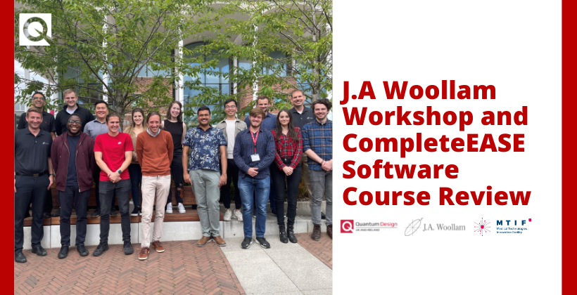 J.A. Woollam Workshop and CompleteEase Course Review
